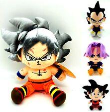 JP Anime Dragon Ball Z Super Saiyan Plush Doll Toy Son Goku Vegeta Gohan