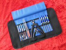 Craft Model Tool Kit Suit Hornby Train Track Cutting Set & Quality Roll Up Case