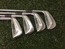 NICE MacGregor Golf JACK NICKLAUS GOLDEN Iron Set 3-6 Left Handed Steel REGULAR