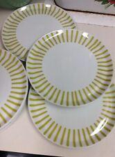 """Set Of 6 Melitta Germany Mid-Century 7"""" Plates Zurich Jupp Ernst Design"""