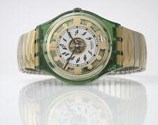 GREEN SHINE - Swatch Gent FLEX - GG131 - Neu und ungetragen