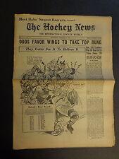 The Hockey News January 5, 1952 Vol.5 No.14 St.Laurent, Dickie Moore Jan '52
