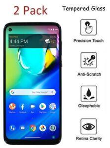 For Motorola Moto G Power XT2041DL 2 Pack Tempered Glass