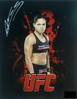 Amanda Nunes Autographed Signed UFC 8x10 Photo REPRINT