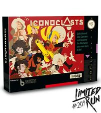 Iconoclasts Classic Edition : Limited Run Games #209 - NEW/SEALED - PSVITA