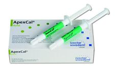 ApexCal Calcium-Hydroxide Dressing – 2 (2.5 g) Syringes with Tips - Ivoclar