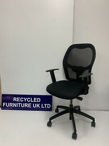 Triumph mesh-back operators chairs Adjustable(8 In Stock) Bargain £89  Each