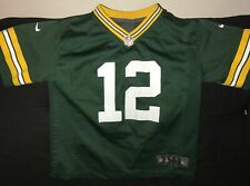 GREEN BAY PACKERS # 12 AARON RODGERS NFL JERSEY BY NIKE YOUTH LARGE