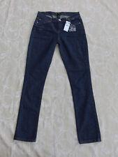 Rusty Conniving Skinny Blue Denim Jeans Women's Size 7 New