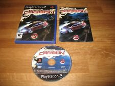 PS2 game - Need for Speed Carbon (complete PAL)