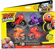 Ricky Zoom The Zoom Family Pack incl Hank Helen Toot & Ricky