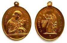 Medaglia Religiosa Devozionale San Luigi Gonzaga Pregate Per Noi S. Angelo Custo