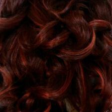 Dark Brown Short Curly Wig w/ Spiral Curls & Full Bangs - Annie
