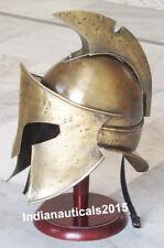 Medieval Armor Helmet Viking 300 Costume Helmet Liner Greek With Stand