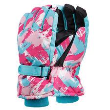 New Women Touch Screen Snow Ski Gloves Winter Warm Waterproof Mittens