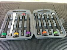 Am303 Matco 10 Pc 12 Dr Torque Limiting Extension Bar Set In Storage Case