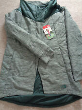 The North Face Long psuedio womens sample jacket coat Size M NEW+TAGS