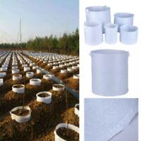 5Pcs/lot Nursery Pots Plant/Seedling Raising Bags Pouch Garden Fabric Grow Pots
