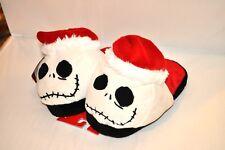 Jack Head Slippers Nightmare Before Christmas Skellington Child Large 2-3 NEW