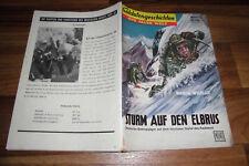 SOLDATENGESCHICHTEN 29 / 1958 -- STURM auf den ELBRUS / Gebirgsjäger im Kaukasus