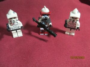 LEGO Star Wars Minifigures Lot . ARC Trooper & ARF Troopers  + weapons