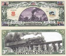 100 Railroad Mail Train USPS Postal History Bills Lot