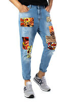 Jeans Uomo BERNA patch 19419530