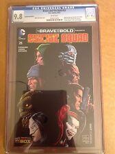 CGC 9.8 Brave and the Bold #25 Comicon Box Variant Suicide Squad Van Sciver