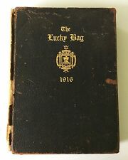1916 THE LUCKY BAG Yearbook United States Naval Academy Navy Annapolis