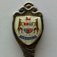 Tasmania Coat Of Arms Spoon Teaspoon (T139)