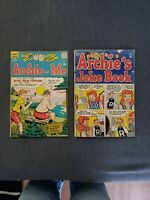 Archie lot Archie's Joke Book Golden Age 1954 + Archie and Me 1970 REDHEAD BETTY