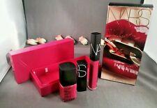NARS Lip and Nail Set ~ CLIMAX (Lipstick/Lip Gloss/Nail Polish) - SCHIAP - NIB