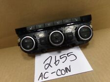 2012 Volkswagen Passat AC and Heater Control Used Stock #2655-AC