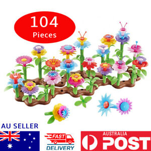 """Flower Garden Building Toys """"104 PIECES """" Girls and Boys Toddlers Preschool toys"""