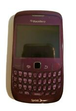 Blackberry Curve Sprint Locked 8350 Smartphone in Purple with Accessories