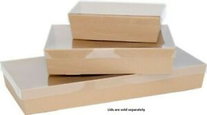Brown Catering Tray Small 80mm High (255x155x80)  50 pcs