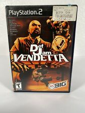 Def Jam Vendetta Black Label Sony PlayStation 2 PS2 Complete Manual Same Day Shi