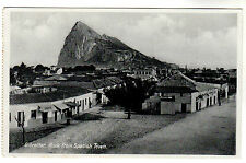 Rock From Spanish Town - Gibraltar Photo Postcard circa 1920s