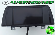 BMW F30 From 12-15 SATNAV & CD Player Display Screen (Breaking For Spare Parts)