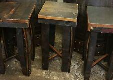 Handmade Rustic Solid Oak whisky barrel Stave bar stool
