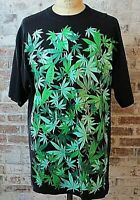 Marijuana Leaf T-Shirt Hemp CBD Big & Tall John Son Super Heavy Weight 3XL