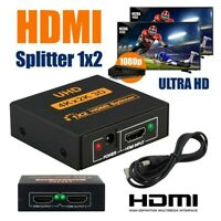1080P 1 IN 2 4K HDCP 1,4 Stripper 1 × 2   Splitter Switcher Für HDTV Xbox