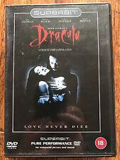 Gary Oldman BRAM STOKER'S DRACULA ~ 1992 Coppola Horror | UK Sueprbit DTS DVD