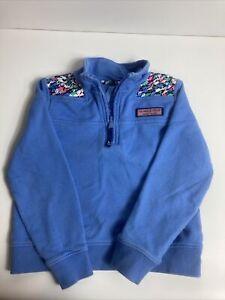 vineyard vines boys 1/4 zip pullover sweater 4t