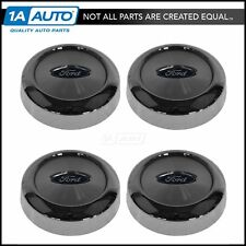 OEM Wheel Hub Center Cap With Logo Set of 4 Chrome For Ford F150 Expedition New
