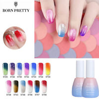 10ml Thermal Glitter UV Gel Nail Polish Soak Off LED Shiny  Nails Salon