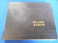 (10) 78 RPM'S-B. GOODMAN, T. DORSEY, G. MILLER, X. CUGAT - STORAGE ALBUM-CLEAN I