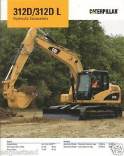 Equipment Brochure - Caterpillar - 312D L - Hydraulic Excavator - 2008 (Eb810)