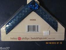 Lindsay Phillips Switch Flops Kids New Straps MEDIUM EMMA  $12.00