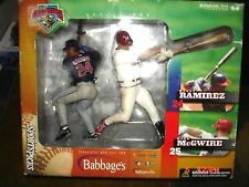 Mark McGwire & Manny Ramirez 2000 Big Challenge Poseable Action Figures-New!!